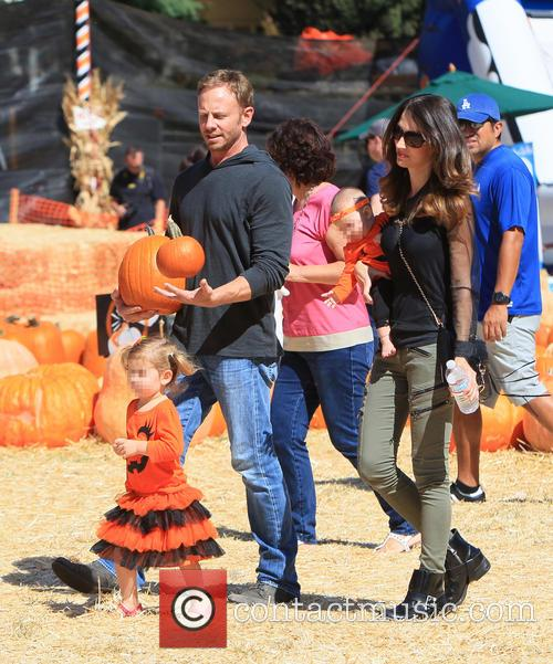 Ian Ziering, Erin Kristine Ludwig, Mia Ziering and Penna Mae Ziering 10
