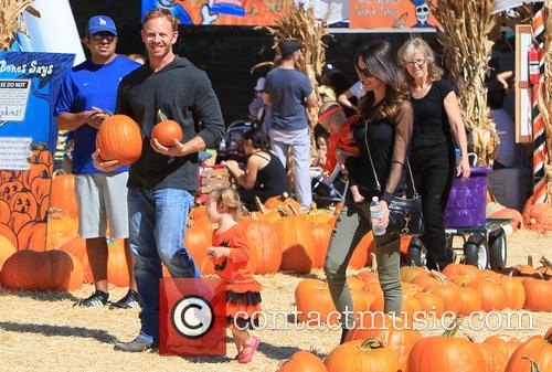 Ian Ziering, Erin Kristine Ludwig, Mia Ziering and Penna Mae Ziering 15