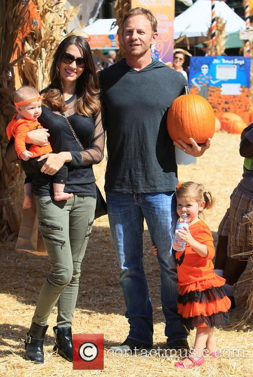 Ian Ziering, Erin Kristine Ludwig, Mia Ziering and Penna Mae Ziering 16