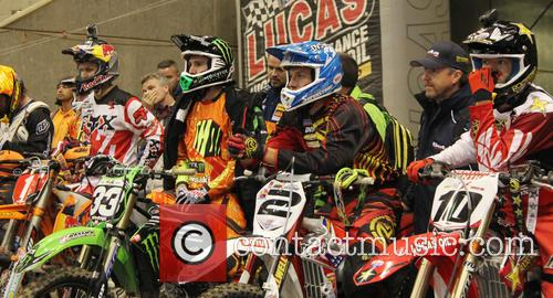 Taddy Blazusiak, Taylor Robert, Cody Webb and Colton Haaker 2