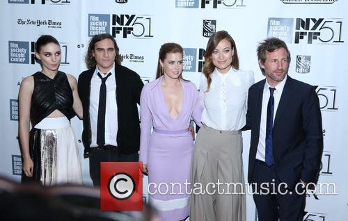 Rooney Mara, Joaquin Phoenix, Amy Adams, Olivia Wilde and Director Spike Jonze