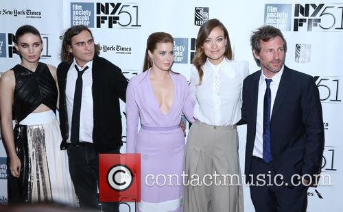 Rooney Mara, Joaquin Phoenix, Amy Adams, Olivia Wilde and director Spike Jonze 3