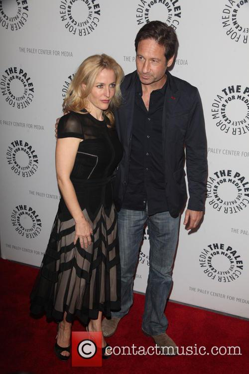 Gillian Anderson and David Duchovny 4