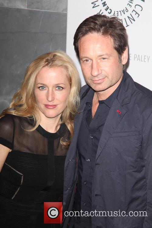 Gillian Anderson and David Duchovny 8