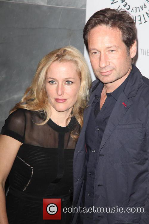 Gillian Anderson and David Duchovny 9