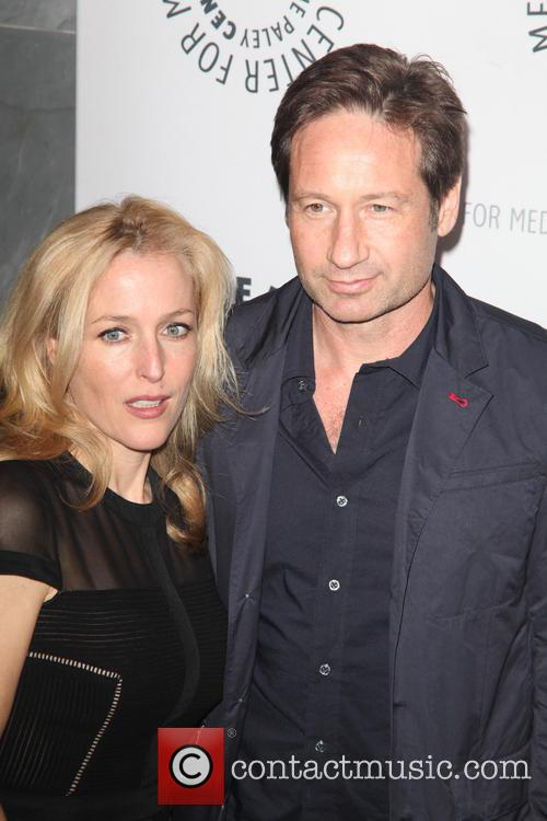 Gillian Anderson and David Duchovny 10