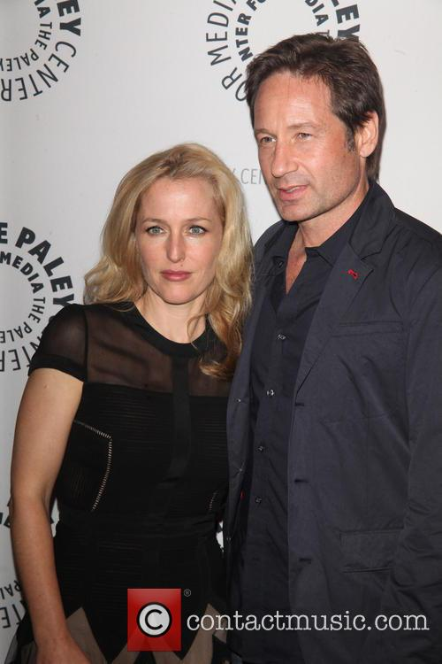 Gillian Anderson and David Duchovny 11