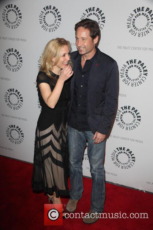 Gillian Anderson and David Duchovny 12