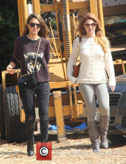 Jessica Alba and Lauren Andersen 6
