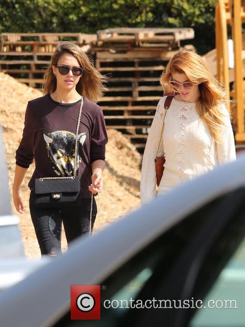 Jessica Alba and Lauren Andersen 8