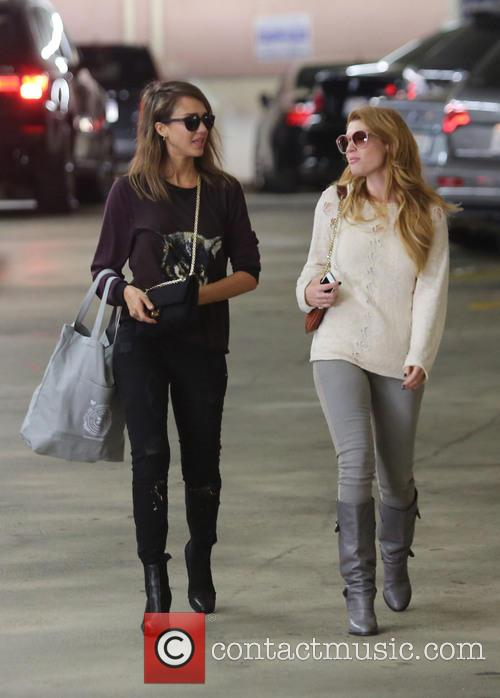 Jessica Alba and Lauren Andersen 1