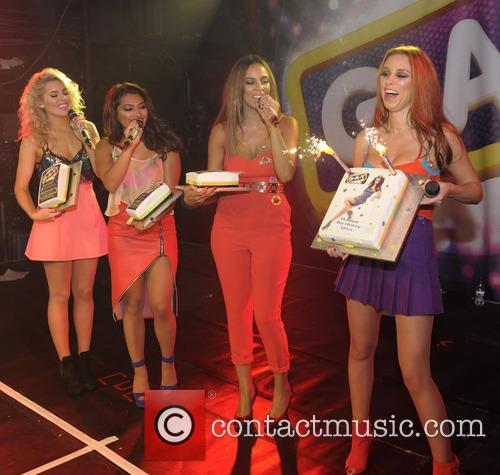 The Saturdays, Mollie King, Una Healy, Vanessa White and Rochelle Humes 5