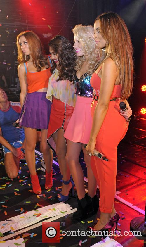 The Saturdays, Mollie King, Una Healy, Vanessa White and Rochelle Humes 7