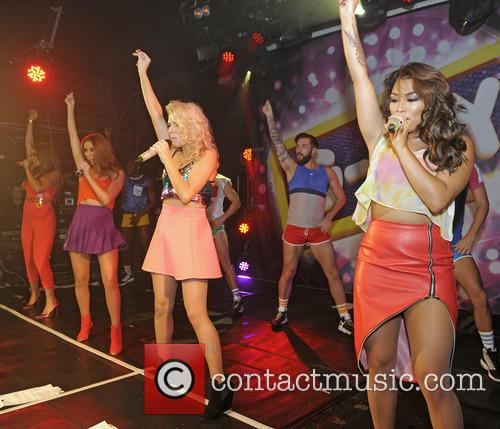 the saturdays mollie king una healy vanessa white rochelle humes the 3904414