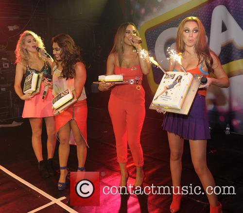 The Saturdays, Mollie King, Una Healy, Vanessa White and Rochelle Humes 9