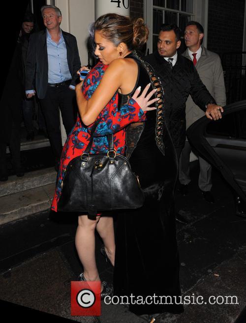Nicole Scherzinger, Kelly Osbourne, Louis Walsh, x factor