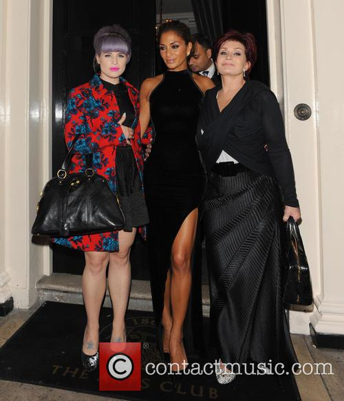 Nicole Scherzinger, Kelly Osbourne and Sharon Osbourne 11