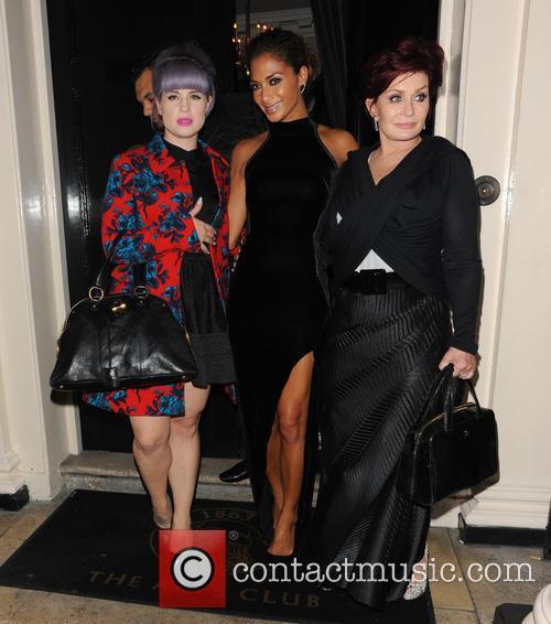 Nicole Scherzinger, Kelly Osbourne and Sharon Osbourne 1