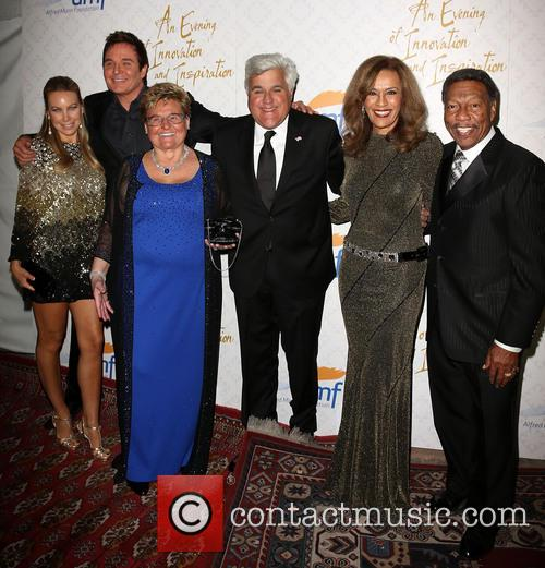 Cassandra Mann, Jeff Tracta, Claude Mann, Jay Leno, Marilyn Mccoo and Billy Davis Jr. 4