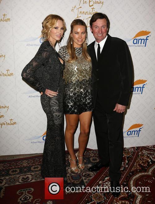 Janet Gretzky, Cassandra Mann and Wayne Gretzky 4