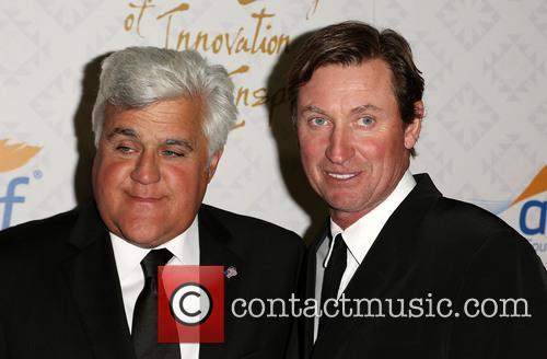 Jay Leno, Wayne Gretzky, Robinsons-May Lot