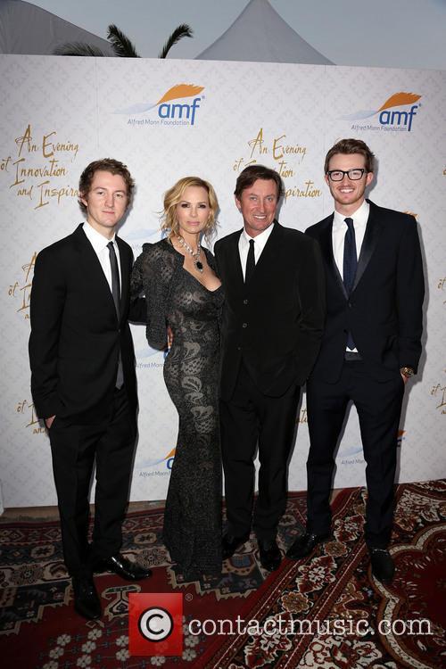 Wayne Gretzky, Janet Gretzky and Ty Gretzky 3