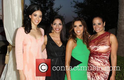 Edy Ganem, Christiane Perkins-Garcia, Eva Longoria, Judy Reyes, Eilan Hotel Resort and Spa