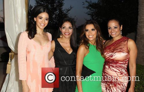 Edy Ganem, Christiane Perkins-Garcia, Eva Longoria, Judy Reyes, Eilan Hotel Resort and Spa