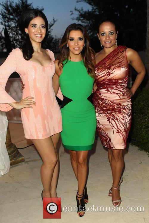 Edy Ganem, Eva Longoria, Judy Reyes, Eilan Hotel Resort and Spa