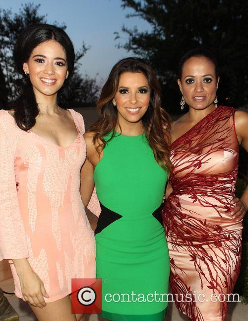 Edy Ganem, Eva Longoria, Judy Reyes, Eilan Hotel Resort and Spa