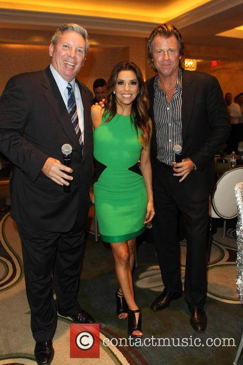 Mike Sexton, Eva Longoria and Vince Van Patten 1