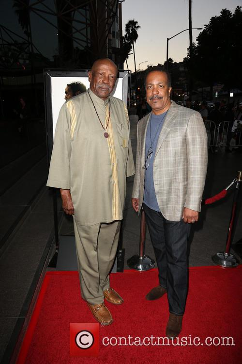 Lou Gossett Jr. and Robert Gossett 2