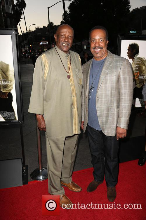 Lou Gossett Jr. and Robert Gossett 1