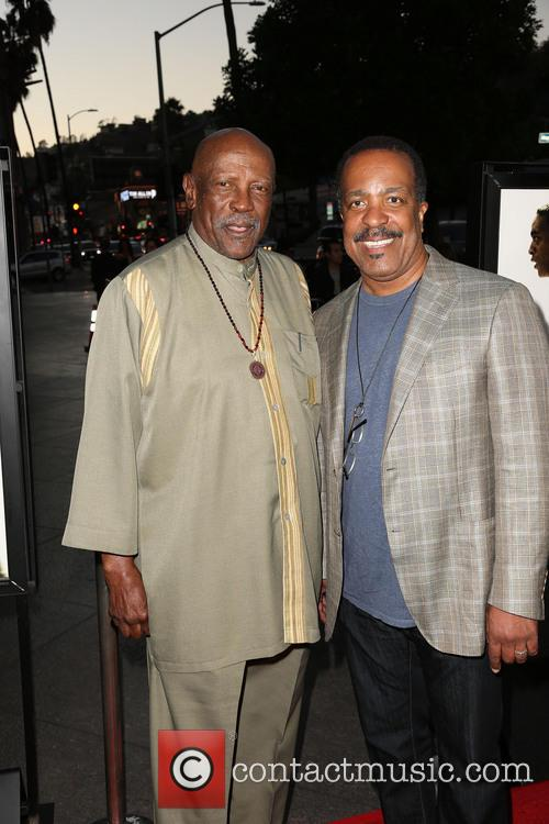 Lou Gossett Jr. and Robert Gossett 3
