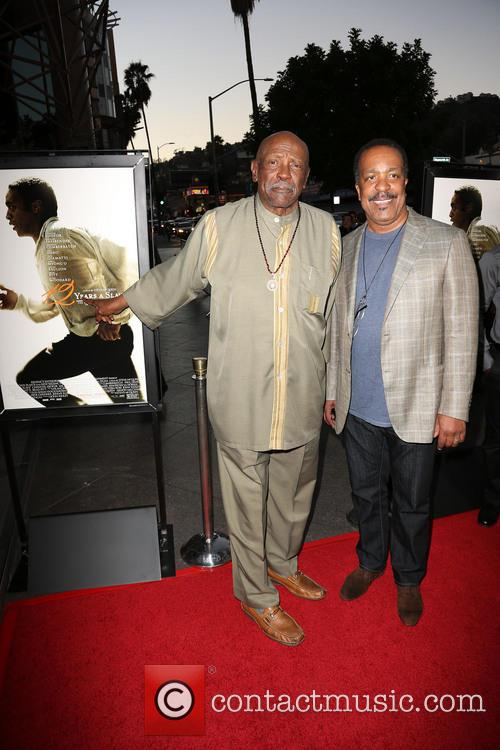 Lou Gossett Jr. and Robert Gossett 5