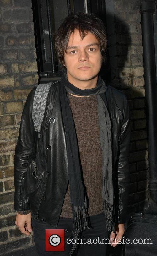 Jamie Cullum at the stage door of The Olympia