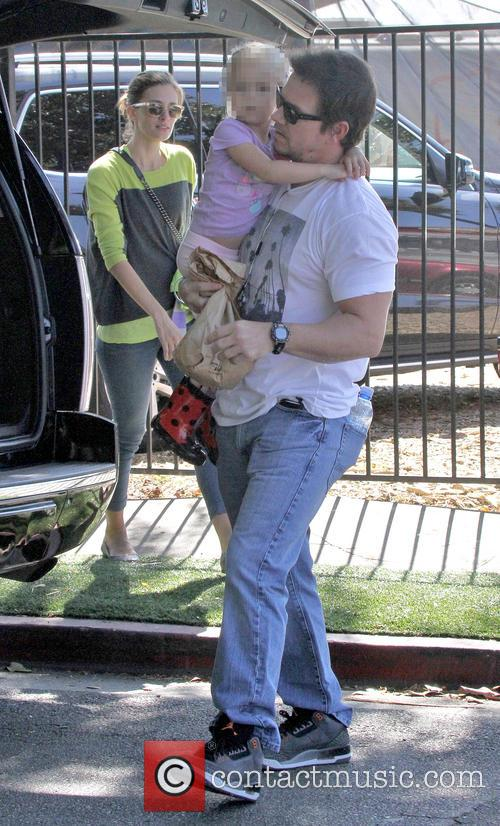Mark Wahlberg, Ella Rae Wahlberg and Rhea Durham 5