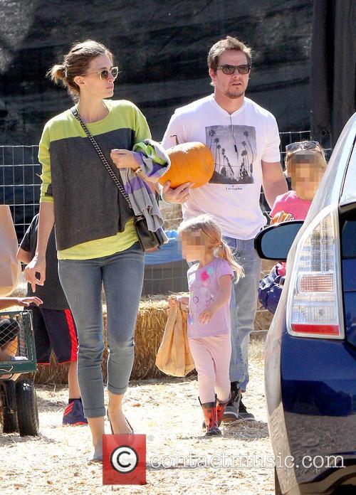 Mark Wahlberg, Rhea Durham, Ella Rae Wahlberg and Grace Margaret Wahlberg 3