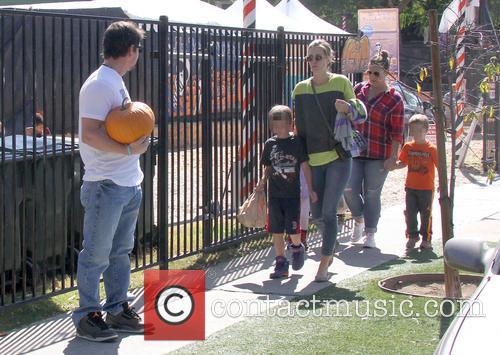 Mark Wahlberg, Rhea Durham, Grace Margaret Wahlberg, Michael Robert Wahlberg and Brendan Joseph Wahlberg 10