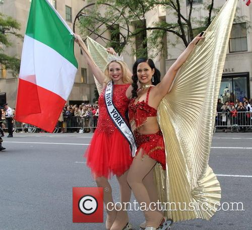 The and Annual Columbus Day Parade 9