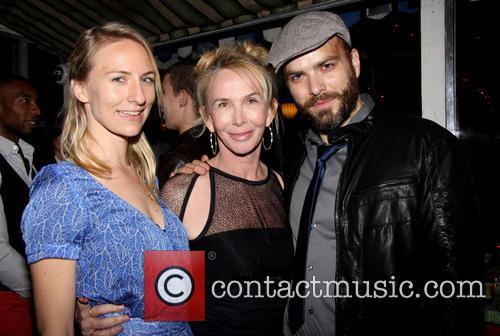 Mickey Sumner, Trudie Styler and Slate Holmgren 2