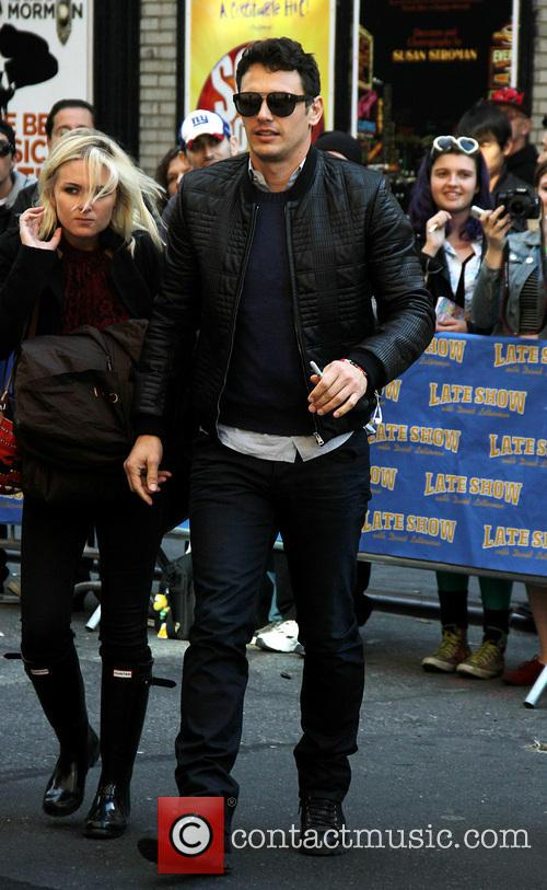 james franco late show with david letterman 3906792