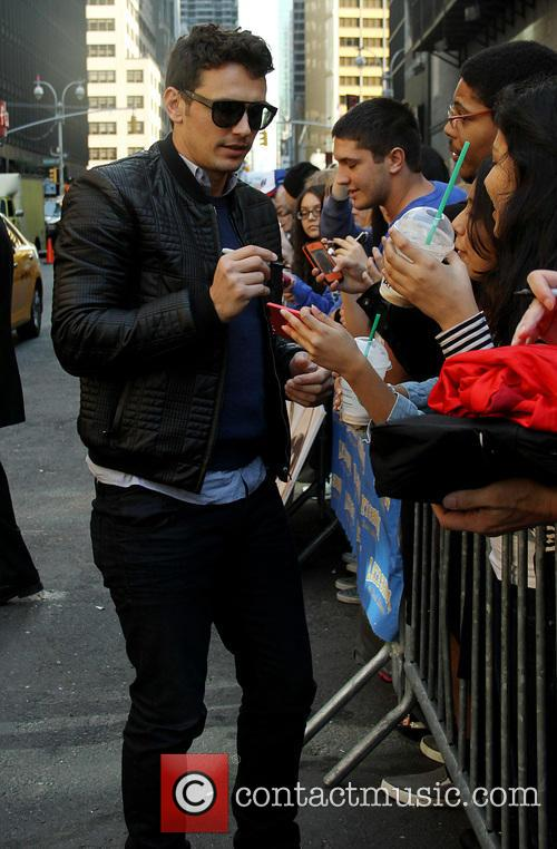 james franco late show with david letterman 3906799