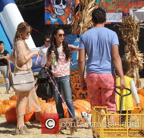 Celebrities visit Mr. Bones Pumpkin Patch