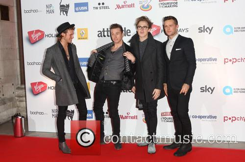 Mcfly, Dougie Poynter, Tom Fletcher, Danny Jones and Harry Judd