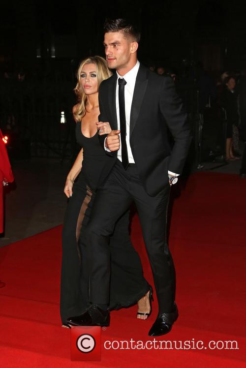 Abbey Clancy, Abigail Clancy and Aljaz Skorjanec 10
