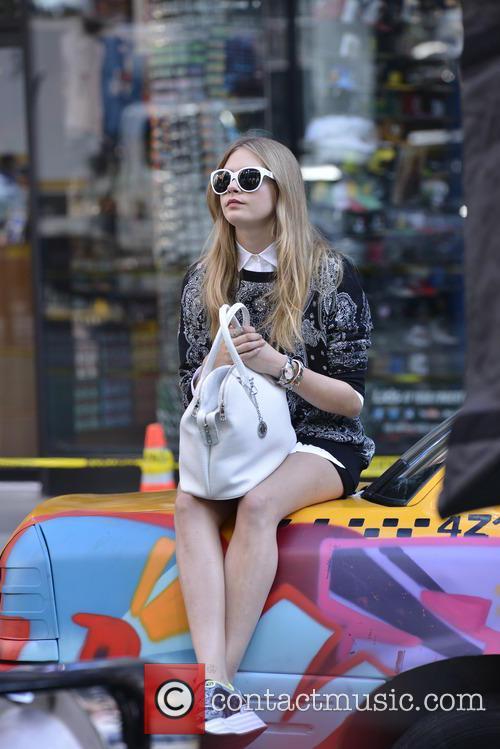 Cara Delevingne, DKNY Photoshoot