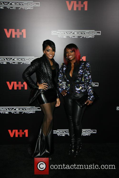Drew Sidora and Kandi Burruss
