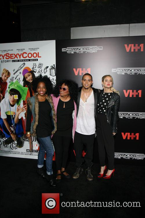 Rhonda Ross, Diana Ross, Evan Ross, Ashlee Simpson