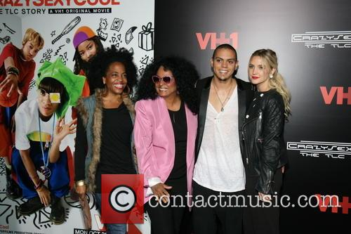 Diana Ross, Rhonda Ross, Evan Ross and Ashlee Simpson